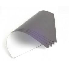 Магнитный лист WM с белым матовым винилом, размер: 0,5 ммх0,62х1,0 м