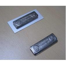 Магнитные держатели для бейджей металл, 44 × 13 мм, от 100 шт