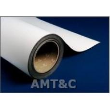 Рулон магнитный с белым матовым покрытием, размер: 0,70 ммх0,62мх30,5м