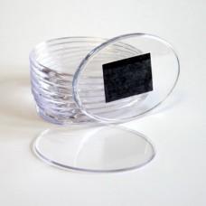 Заготовка акрилового магнита  овальная цена до 1000 шт.