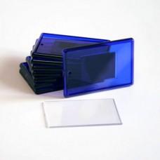 Заготовка акрилового магнита 52 х 77 мм синий цена от 1000 шт.